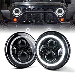 "Xprite 7"" Inch LED Halo Headlights"