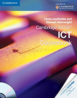 Cambridge IGCSE ICT Coursebook with CD-ROM