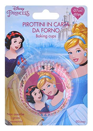 Princesses Princess Cupcake Cases cápsulas x50 producto licenciado
