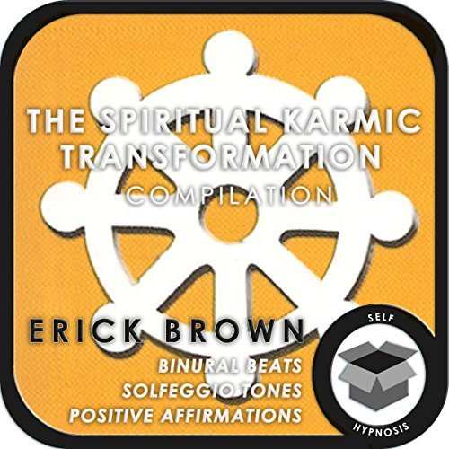 The Spiritual Karmic Transformation Hypnosis Compilation audiobook cover art