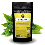 L-Theanine by Soul Juice | 60x 250mg Vegan Capsules | Stress & Relaxation Supplement from <span class='highlight'>Green</span> Tea (1)