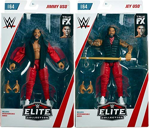 WWE Mattel Roman Reigns//Drew McIntyre combat 36 Bataille Pack figures