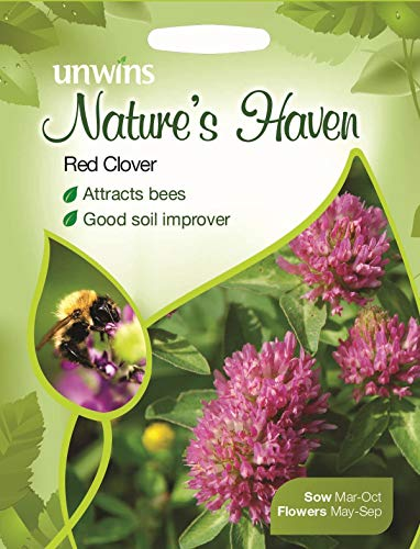 Portal Cool Unwins Pictorial Packet - Natures Haven Red Clover - 200 graines