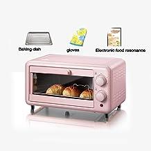 Horno Digital, Microondas De Control Automático, 800 W, 11 Litros, Rosa