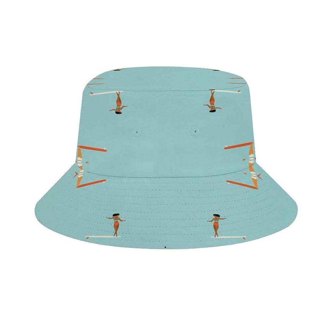 コア見せますしたいソウルサーファーズライトブルー ハット フィッシャーマンキャップ カジュアル オシャレ 釣り 登山 旅行 UVカット 通気性いい 日焼け防止 熱中症予防 ユニセックス