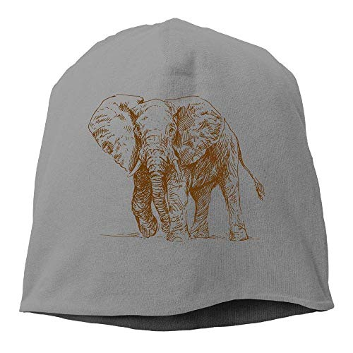 lijied Top Level Beanie Hat Men Women Knit Hat Elephant Cotton Skull Cap
