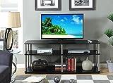 Convenience Concepts Designs2Go 3-Tier TV Stand, 60-Inch, Black