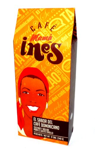 Cafe Mama Ines Traditional Dominican Ground Coffee