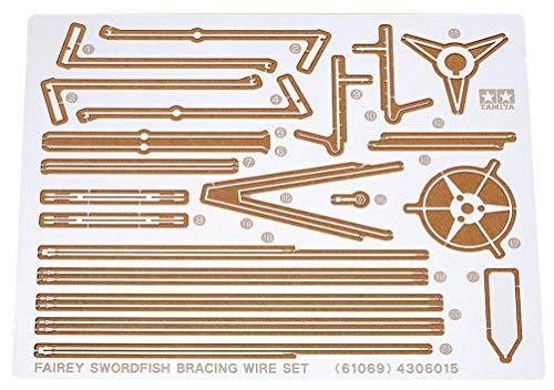 タミヤ 1/48 傑作機シリーズ No.69 イギリス海軍 ソードフィッシュ用 エッチング張線 プラモデル用パーツ 61069