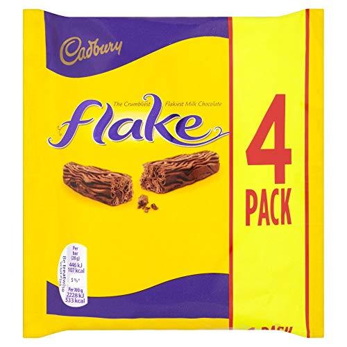 Cadbury Flake - 4 x 20g (80g) - Vorteilspackung