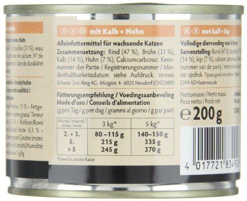 Animonda Carny 83347 Kitten Mix1 12 x 200 g – Katzenfutter - 2