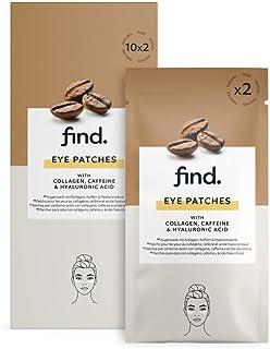 FIND - Parches para los ojos - 20 unidades - 10 sobres con 2 parches cada uno
