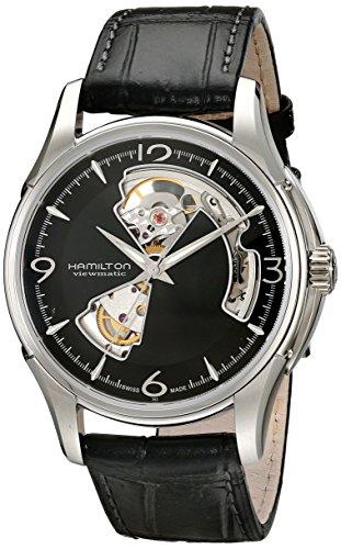 Hamilton Herren-Armbanduhr XL Chronograph Quarz Leder H32565735