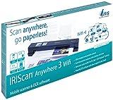 Iris IRIScan Anywhere 3 Wifi Scanneur mobile A4 USB Noir