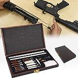 HIMAPETTR Pistola Kit De Limpieza, Pistola Rifle Pistola Escopeta Herramienta, para Pistola Amplio Set De Limpieza para Armas, Accesorios para El Cuidado Y La Limpieza De Armas De Calibre