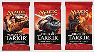 3 (Three) Packs of Magic: the Gathering - MTG: Khans of Tarkir Booster Pack Lot (3 Packs)