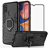 BTShare For Samsung Galaxy M30s Case with Tempered Glass