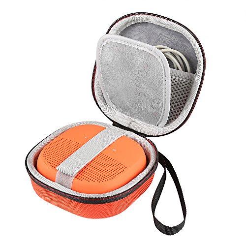 Shucase Tasche für Bose SoundLink Micro Bluetooth Lautsprecher Hülle orange
