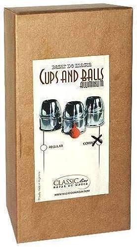 ¡no ser extrañado! SOLOMAGIA Cups & Balls w Chop Cup Alum.Combo Alum.Combo Alum.Combo Pack by Bazar de Magia - Close-Up Magic - Trucos Magia y la Magia - Magic Tricks and Props  barato en alta calidad