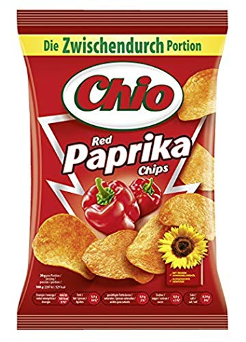 Chio Chips Red Paprika, 12er Pack (12 x 50 g)