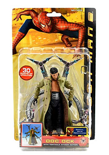 Spider-Man 2 Doc Ock with Tentacle Attack Action Figure by Spider-Man