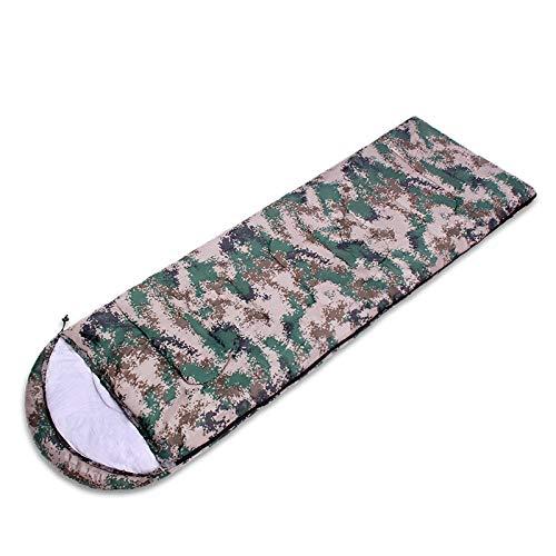 ZED- Saco de Dormir, sobre Ligero, portátil, cómodo con Bolsa de compresión, Ideal para Viajes de 4 Temporadas, Camping, Senderismo, Actividades al Aire Libre