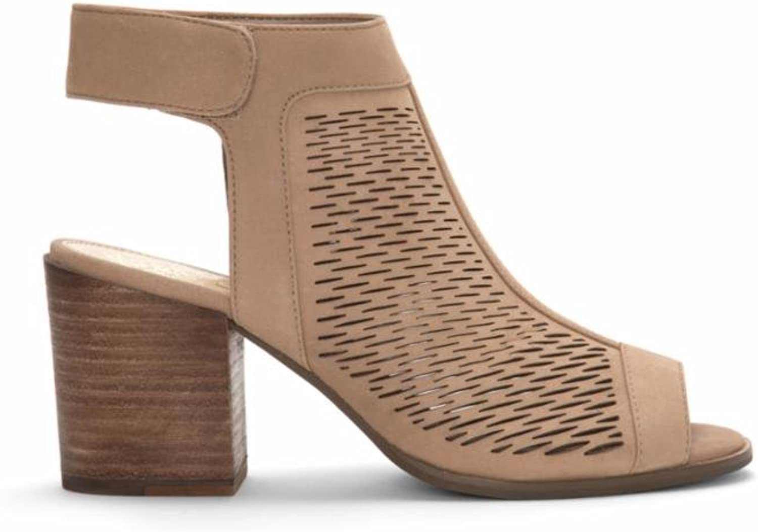 Vince Camuto Women's Lavette Perforated Peep Toe Bootie