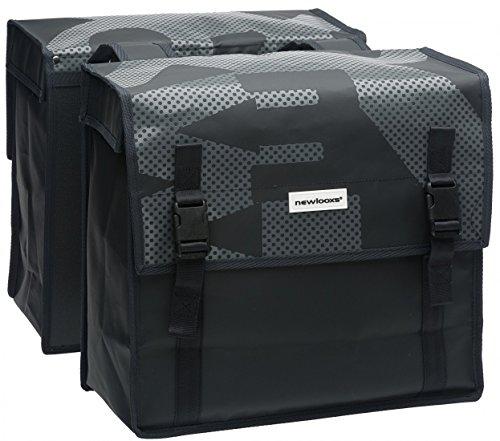 New Looxs Bisonyl Basic bagagedragertas, zwart, 38 x 36 x 17 cm