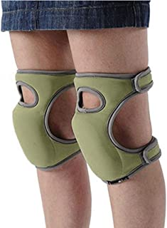 Toyfun Knee Pads for Gardening Cleaning, Knee Pads for Work Knee Pads for Scrubbing Floors Memory Foam Knee Pads (Green)