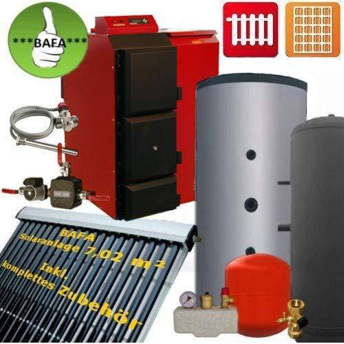 BAFA-set Pelletkessel Pelling 25kW Solarthermie und 1Tonne Pellets