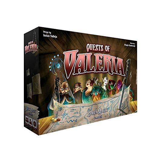 RWX Quests des Valeria-Kartenspiels, Für Familien- Und Freunde Beiläufiges Sammeln Von Brettspiel, Für Weihnachten, Geburtstagskreative Geschenke
