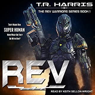 REV audiobook cover art