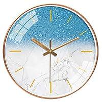 TXOZ キッチン、ベッドルーム、ガーデンルーム、リビングルーム、スタディ、Officeのサイレントウォールクロックパーソナライズ時計ファッション懐中時計クォーツウォール腕時計(10/12インチ) (Color : I, Size : 10in(25.5cm))