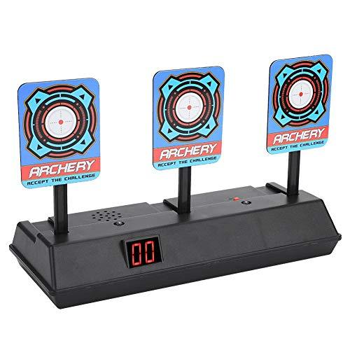 Pistola de Juguete Objetivos de Tiro eléctrico práctica , Pistola de Juguete para niños Electric Target Disparo de Tiro Bullet Stand para Gun Toys Soft Bullets Blaster