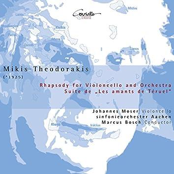 """Rhapsody for Violoncello and Orchestra & Suite from Ballet """"Les Amants de Téruel"""""""