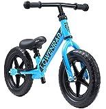 """LÖWENRAD Bicicleta sin Pedales para niños y niñas a Partir de 3 - 4 año, Bici 12"""" Ligero (3KG) con sillín y manubrio Regulable, Azul"""