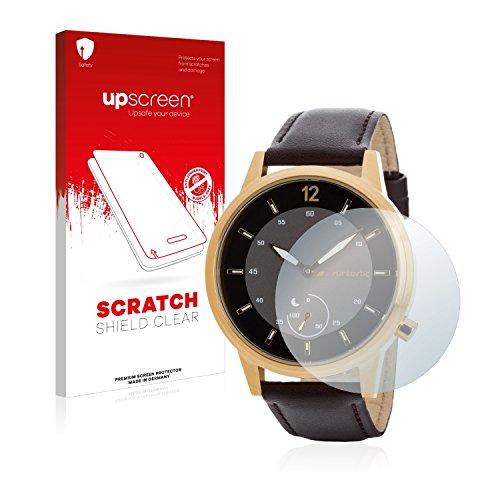 upscreen Schutzfolie kompatibel mit Runtastic Moment Classic – Kristallklar, Kratzschutz, Anti-Fingerprint