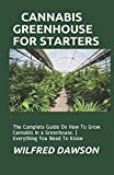 CANNABIS GREENHOUSE FOR STARTERS: The Complete Guide On How To Grow Cannabis In a Greenhouse. ( Everything You Need To Know