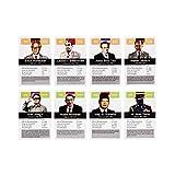 Tyrannen & Despoten Quartett – Das Diktatoren Kartenspiel die 32 übelsten Führer der Geschichte auf Spielkarten - 6