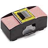Best Card Shufflers - 1-2 Deck Casino Automatic Card Shuffler for Poker Review