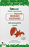 La Tradizione Erboristica Forsan Hennè Rosso Egiziano per Capelli, Riflessante e Nutriente - 100 g