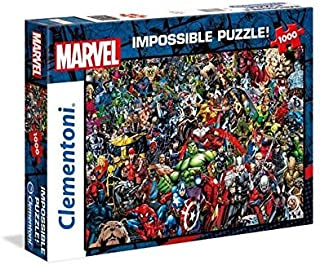 clementoni impossible puzzle marvel