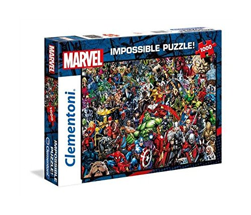 Clementoni Puzzle Impossible Marvel 1000 pzas, Multicolor (39411)