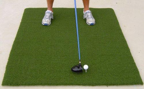 All Turf Mats 48' X 60' XL Super Tee Golf Mat - Holds Any Size Wooden Tee