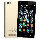 Smartphone Pas Cher 4G,8Pcs V A10 8Go ROM 5MP Appareil Photo Android 7,0 2800mAh...