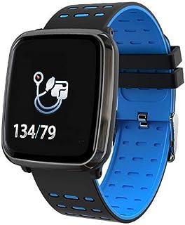 XNNDD Monitor de Ritmo cardíaco Reloj Inteligente Podómetro Deportivo Funcionamiento táctil Impermeable Gimnasio Reloj Inteligente Hombre y Mujer