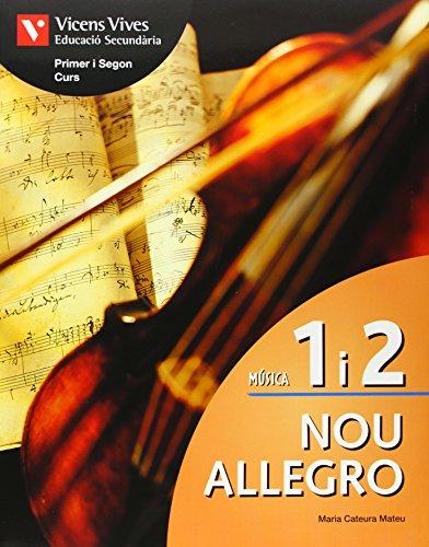 Nou Allegro 1 I 2+cd+activitats - 9788431667207