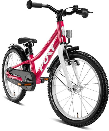 Puky Cyke 18''-1 Alu Kinder Fahrrad Berry rot/weiß