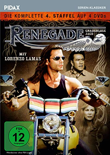 Renegade - Gnadenlose Jagd, Staffel 4 / Weitere 22 Folgen der Kultserie (Pidax Serien-Klassiker)[4 DVDs]