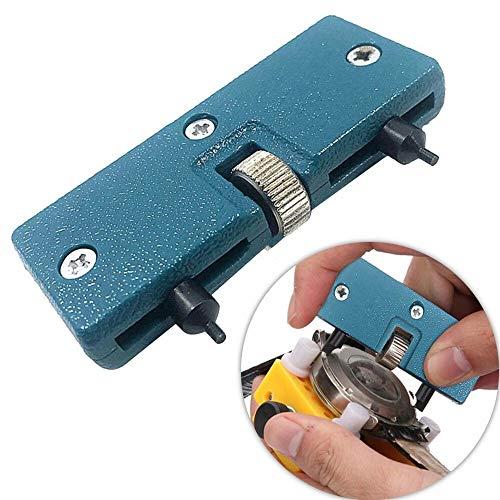 ZRONG 1pc adjustableRectangle Reloj de la Cubierta del Caso del abrelatas del removedor de la Llave de la reparación Tool Kit Accesorios for Bicicletas Reloj